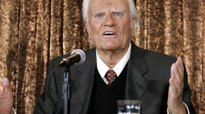 Muere el pastor evangélico Billy Graham